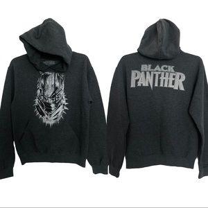 Erik Killmonger Black Panther Marvel Gray Hoodie